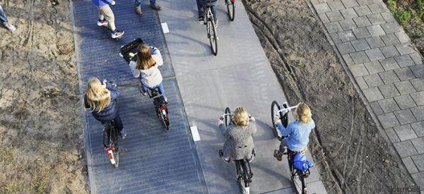 Ein Forschungsprojekt in den Niederlanden macht Radwege zu Kraftwerken