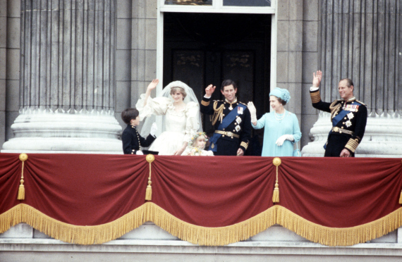 princess diana charles wedding