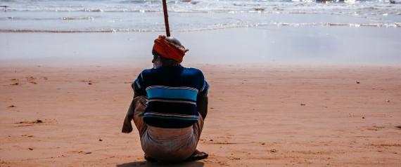 INDIA SITTING BEACH