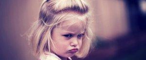Child Annoyed