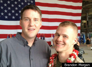 Brandon Morgan Gay Marine
