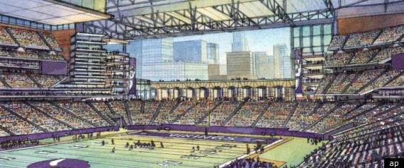 Vikings Stadium New