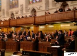 Liberal MP's Rule-Breaking Photo Used To Fuel Tory Filibuster