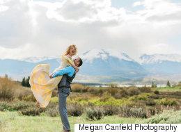 15 robes de mariée jaunes à couper le souffle