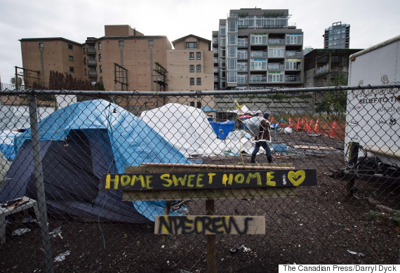homeless vancouver