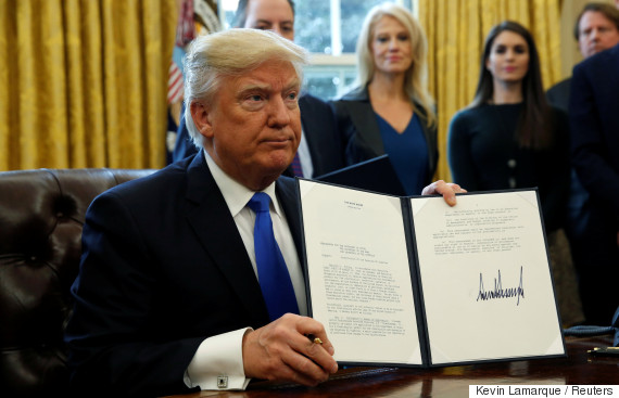 donald trump keystone xl approval
