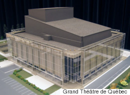 Un écrin de verre pour le Grand Théâtre de Québec