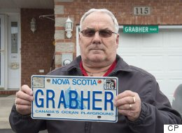 Nova Scotia Won't Let This Man Use His Name On A Licence Plate