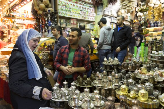 the egyptian market in istanbul