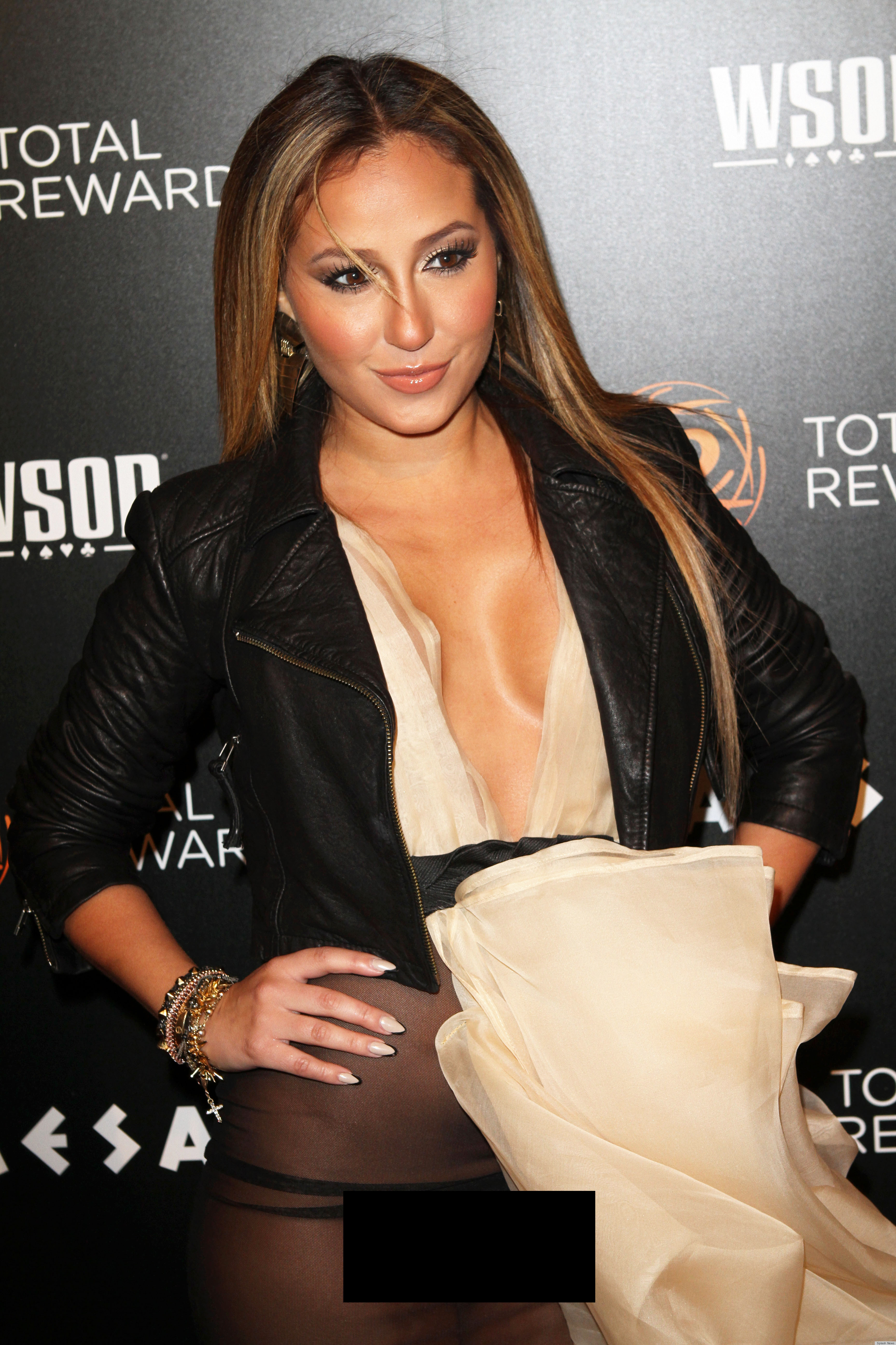 Adrienne Bailon Wardrobe Malfunction: Worst See-Through Dress Flub ...