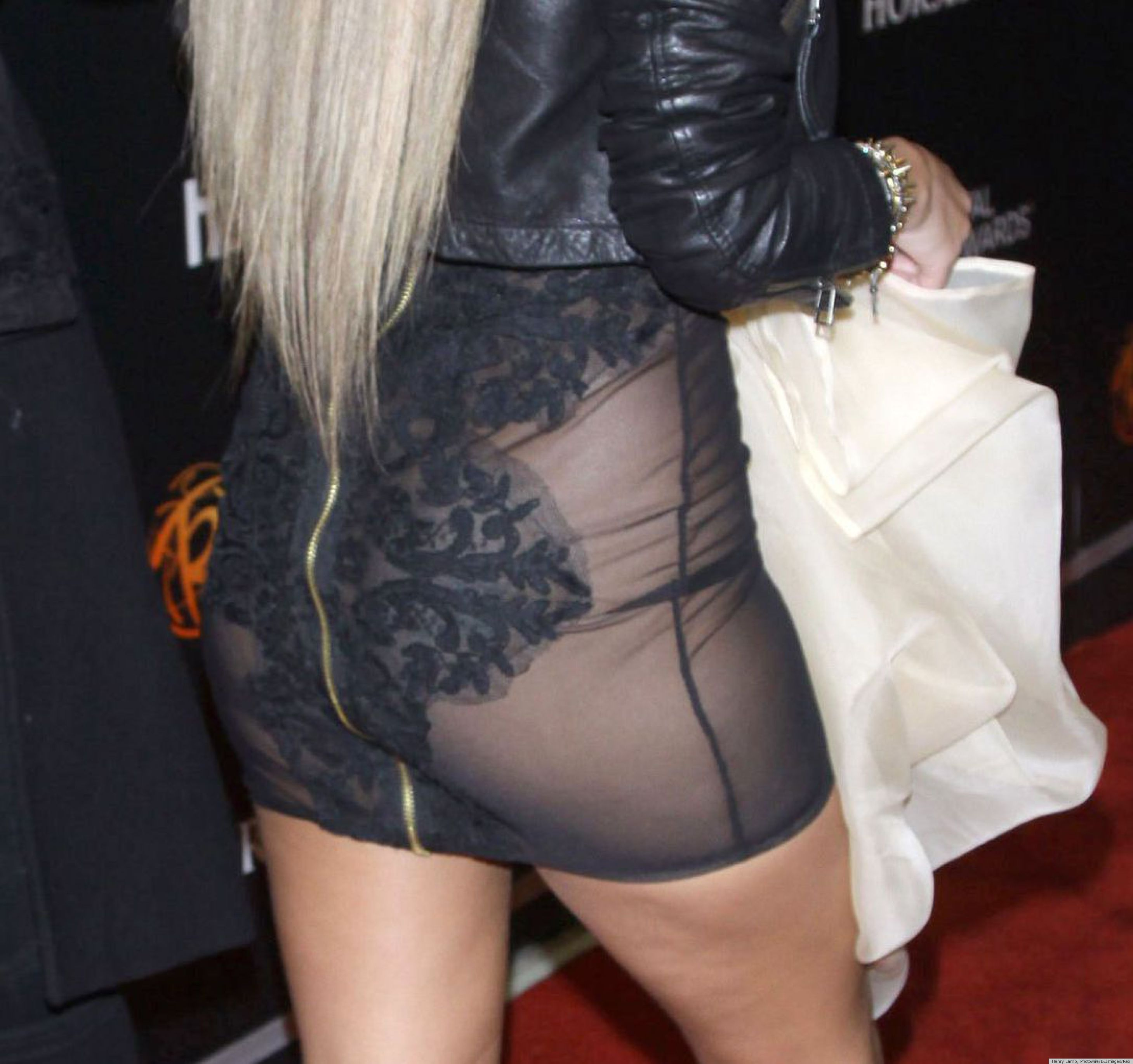 Adrienne Bailon Wardrobe Malfunction: Worst See-Through Dress Flub