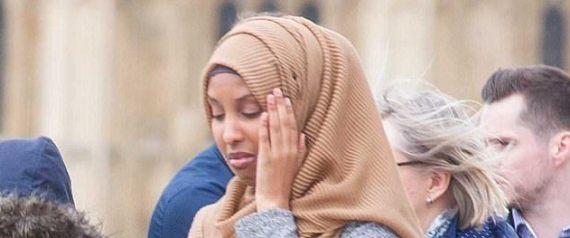 المحجبة صاحبة أشهر صورة في هجوم لندن تخرج عن صمتها وتحكي قصتها