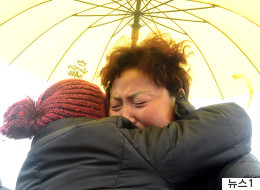 세월호 미수습자 가족들이 다시 바다로 떠났다