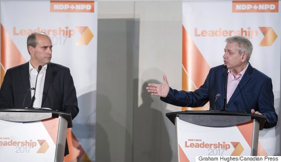 ndp leadership guy caron charlie angus