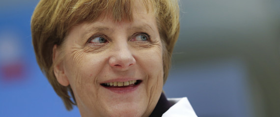 MERKEL GERMANY SMILE