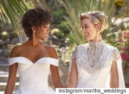 '오렌지이즈더뉴블랙'의 커플이 결혼식을 올렸다