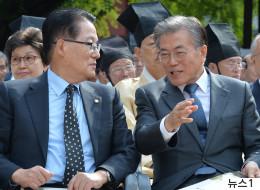 박지원은 제발 문재인이 민주당 후보가 되기를 바란다