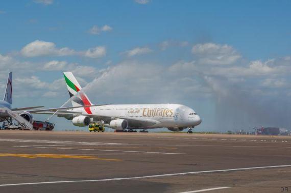 emirates a380 casablanca