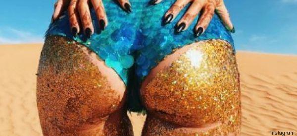 Glitter booty: Αυτή η τάση ομορφιάς δεν είναι κατάλληλη αν κάνετε δουλειά γραφείου