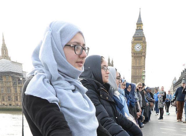 london muslim bridge women