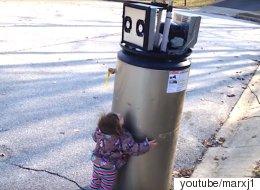 이 아이는 하필 '급탕기'를 좋아하게 됐다(동영상)