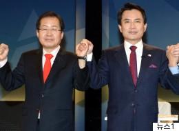 김진태가 홍준표에게 '최상급의 디스'를 했다
