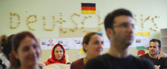 REFUGEES GERMANY SCHOOL