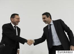 H πορεία της οικονομίας, η ανάπτυξη και η κατάσταση των τραπεζών, στο επίκεντρο της συνάντησης Μητσοτάκη - Στουρνάρα