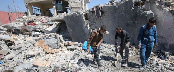 تفاصيل المجزرة المروعة في الموصل تكشفها منظمة العفو الدولية.. هكذا سقط المدنيون ضحية غياب التنسيق بين التحالف والقوات العراقية