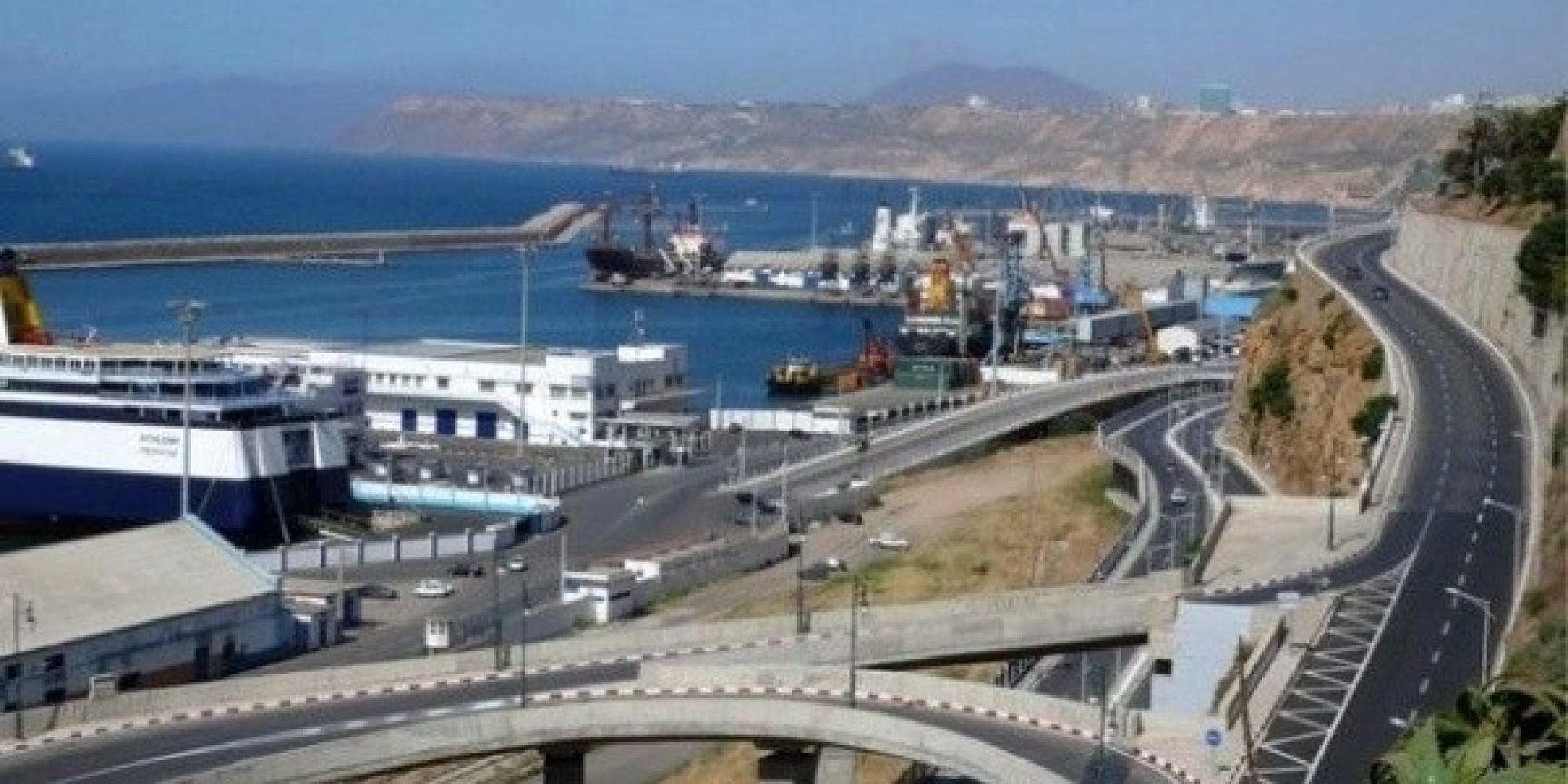 Oran r ouverture la circulation de la route du port - Port de marseille pour aller en algerie ...