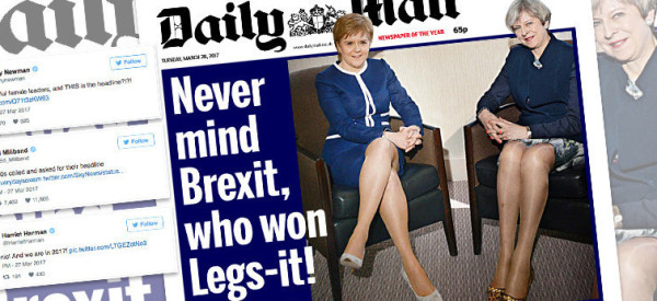 Why I Complained To The Press Regulator About The Daily Mail's Sexist 'Legs-It' Headline