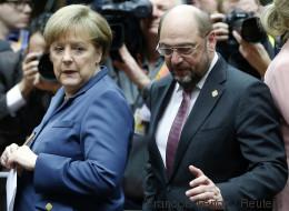 Nach Saarland-Wahl: Merkel und Linke fordern Klarheit von Schulz über Koalitionspläne