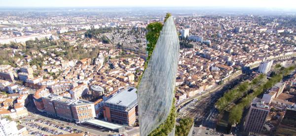 Toulouse bekommt einen durchgedrehten Wolkenkratzer - mit einer grünen Lunge