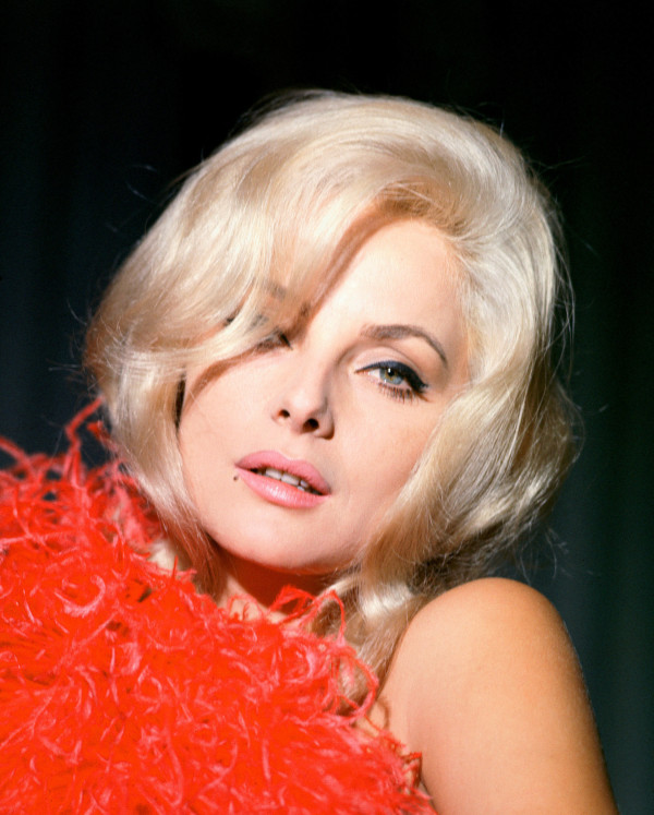 Italian Actress,Virna Lisi, Portray Pose for the '60s