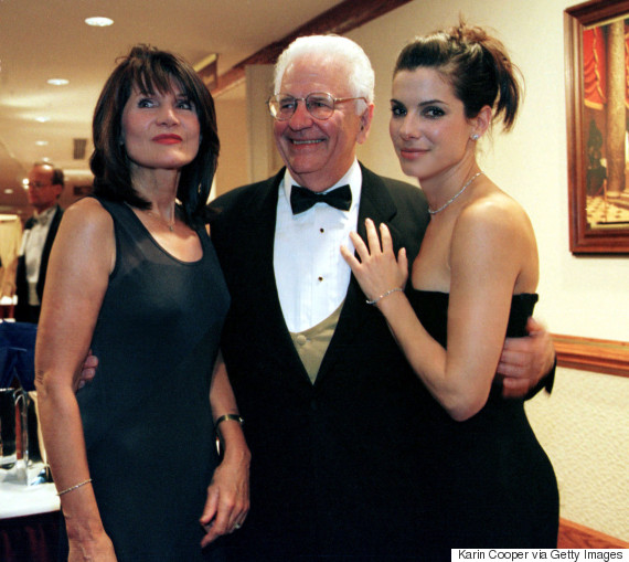 sandra bullock parents