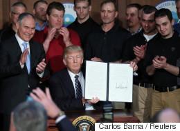 트럼프가 끔찍한 反환경 행정명령에 서명하다