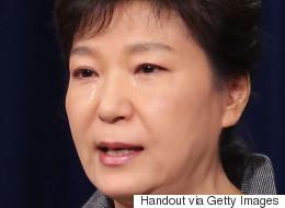 박근혜는 검찰의 추궁에 눈물을 흘렸다