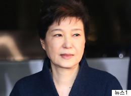 박근혜, 법원에 '포토라인 안 서게 해달라' 요청