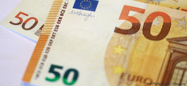 Das passiert, wenn ihr den neuen 50-Euro-Schein ins Licht haltet - Video