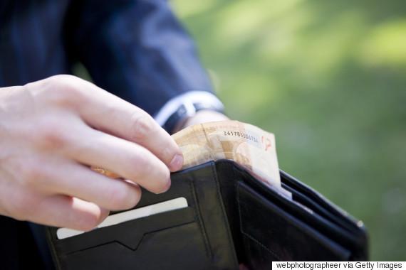 paying cash euro
