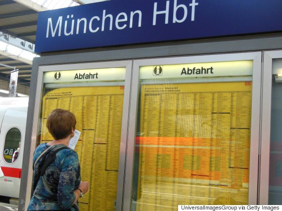 germany time schedule train