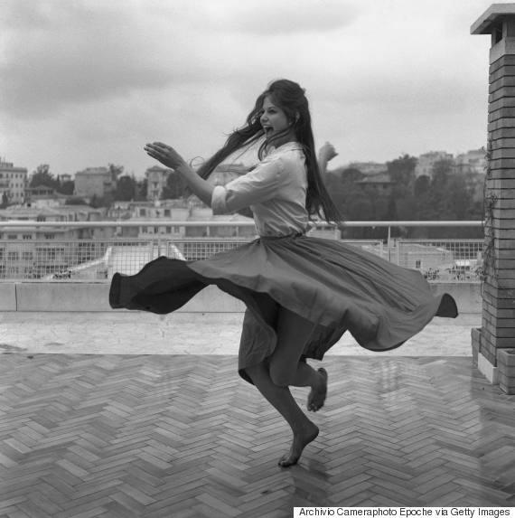 claudia cardinale dancing