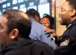 Manhattan High School Fight