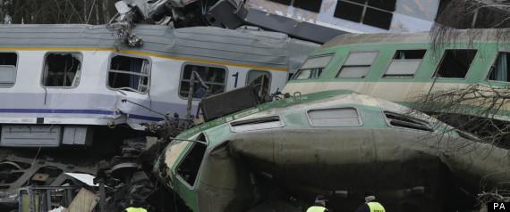 Poland Train Crash Szczekociny