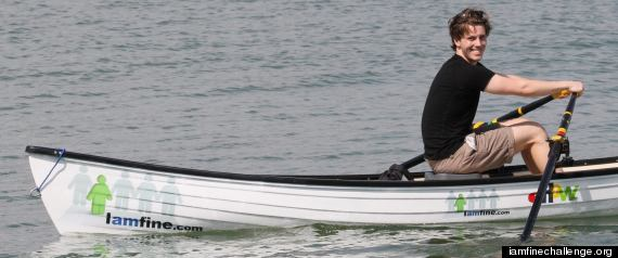 Lewis Colam Rowing From Miami To New York