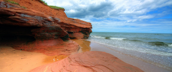 THE RED SAND BEACHES OF PEI
