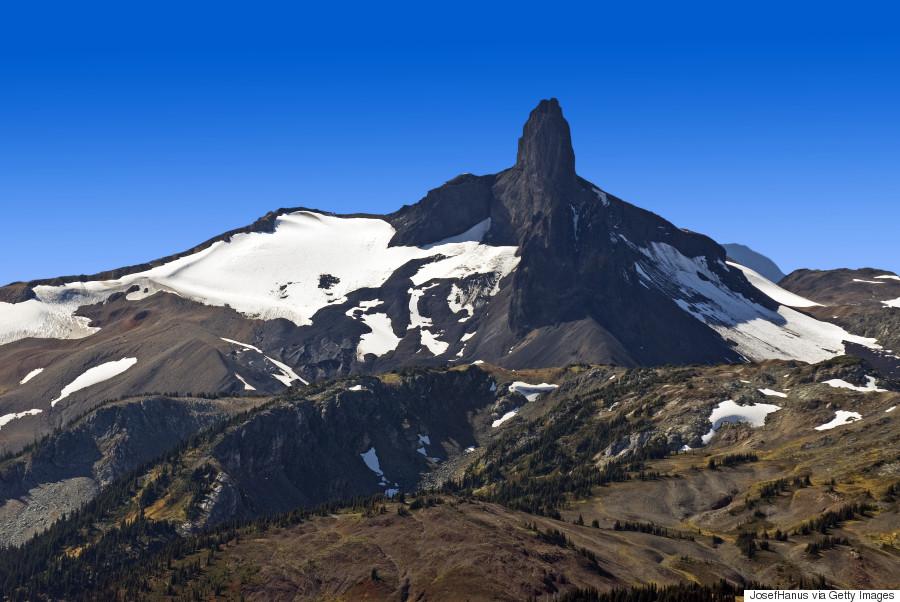 black tusk volcano