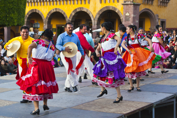 traditional mexican folk dance