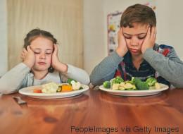 Was tun, wenn Kinder das Essen ablehnen?