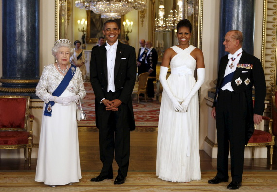 the elizabeth queen palace obama